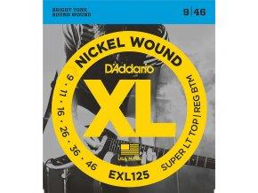 D'ADDARIO EXL125 ECO struny na el. kytaru, 9-46 nebalené
