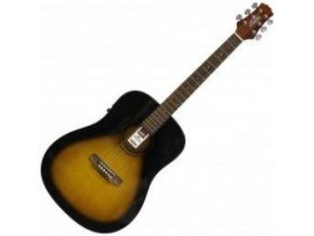 ASHTON D20EQ TSB Elektroakustická kytara Sunburst