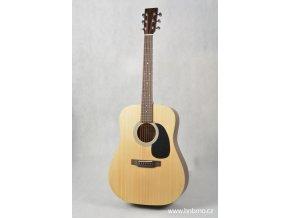 SIGMA DM-ST WF, akustická kytara dreadnought VÝBĚR, masiv, sitka, maghagon, mat, nultý pražec 45 mm
