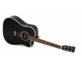 SIGMA DMC-1STE-BK , elektro-akustická kytara VÝBĚR, masiv, sitka