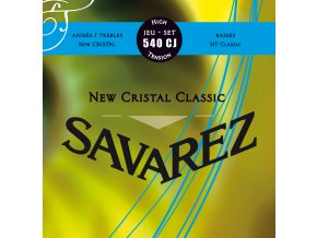 SAVAREZ 540CJ NEW CRISTAL CLASSIC, nylonové struny High Tension