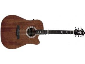 "HAGSTROM Mora II Dreadnought CE - natural, elektroakustická kytara ""VÝBĚR"""
