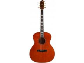 "HAGSTROM Siljan Custom Grand Auditorium E - Mandarin, elektroakustická kytara ""VÝBĚR"""