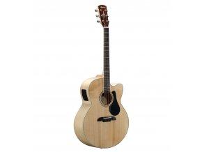 ALVAREZ AJ80 - jumbo kytara, polomasiv sitka, javor