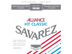 SAVAREZ 540ARJ ALLIANCE, nylonové struny, Hybrid Tension