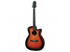 CRAFTER HDC-100SEQ/TS western kytara, polomasiv