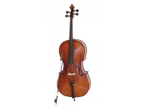 DIMAVERY 4/4, studentské violoncello, masiv, komplet