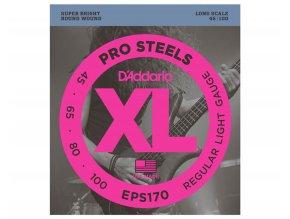 D'ADDARIO EPS170 struny na baskytaru, ocel 45-100