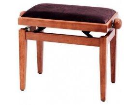GEWA pure F900558 lavička Beethoven hnědý lesk