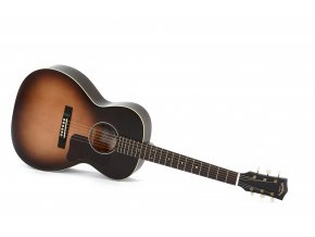 SIGMA LM-SG00-SB, elektroakustická kytara, 44,5mm, masiv sitka, mechaniky Grover, Fishman, výběr