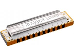 HOHNER MARINE BAND C-dur, ústní harmonika tremolo 364/24 M364017