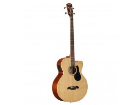 ALVAREZ AB60CE - elektro-akustická baskytara, Sitka / Mahagon, EQ LR Baggs StagePro EQ