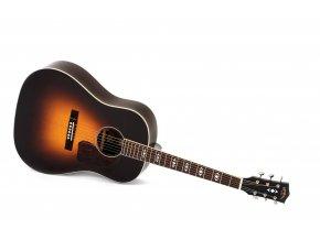 SIGMA JR-SG Advanced, elektroakustická kytara, 44,5mm, masiv sitka, mechaniky Grover, výběr