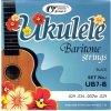 GORSTRINGS UB7-B struny ukulele-Baritone/Black