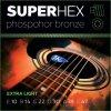 SUPERHEX PB 10/47 struny na westernovou kytaru