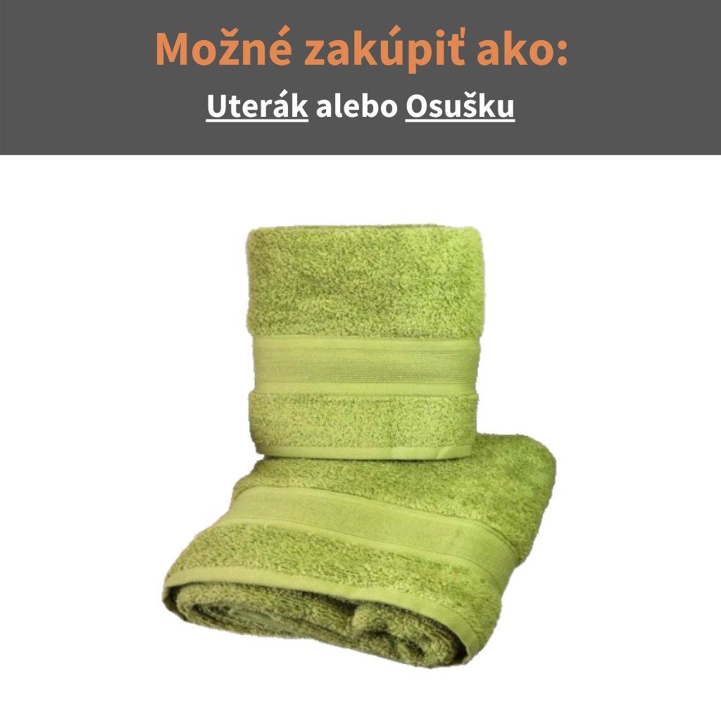 Froté uterák a osuška Olivová
