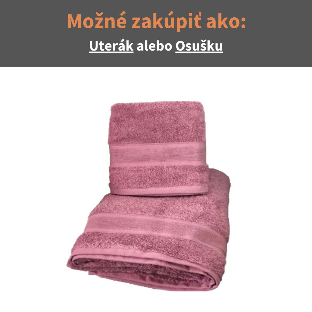 Froté uterák a osuška Púdrova