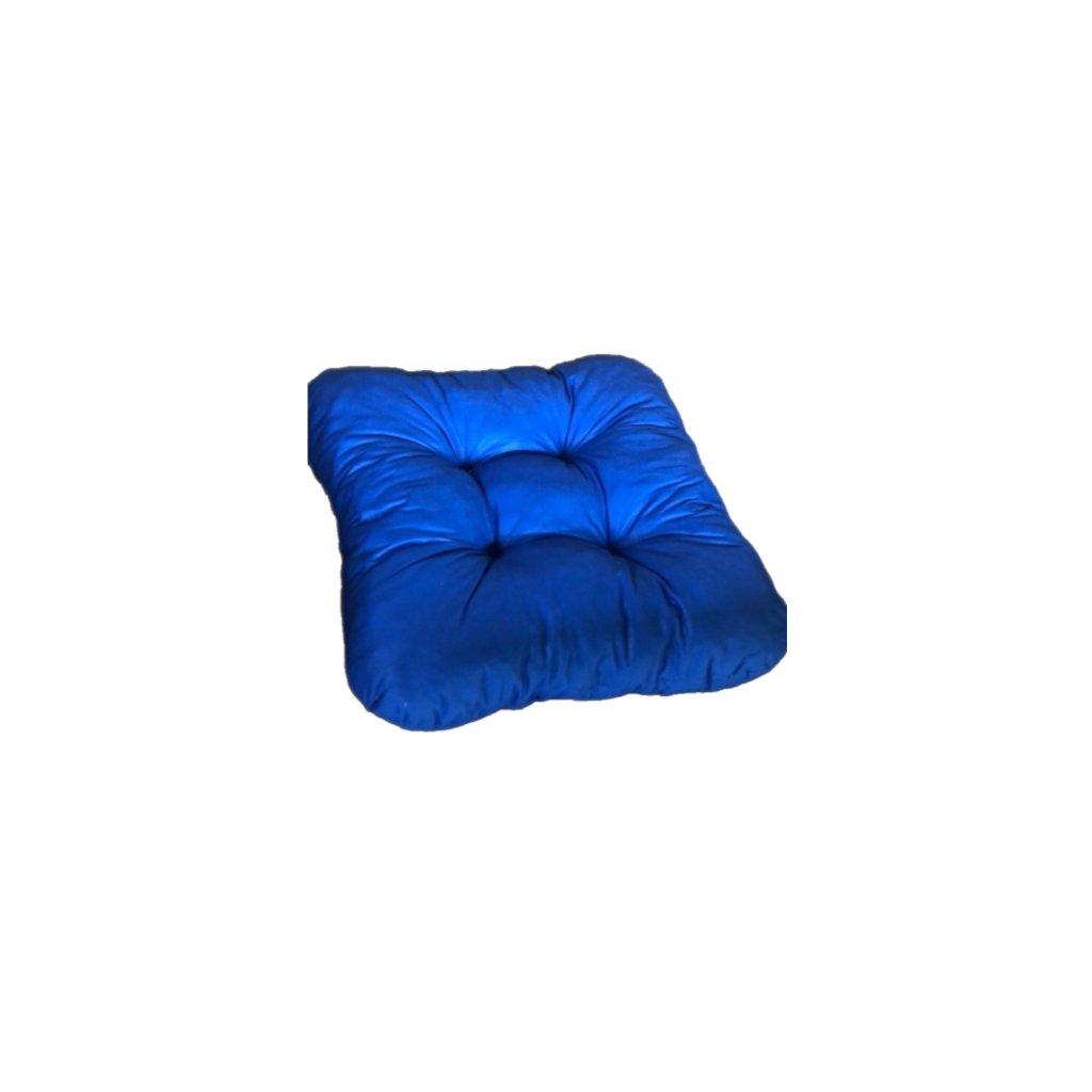 Podložka na stoličku - Modrá