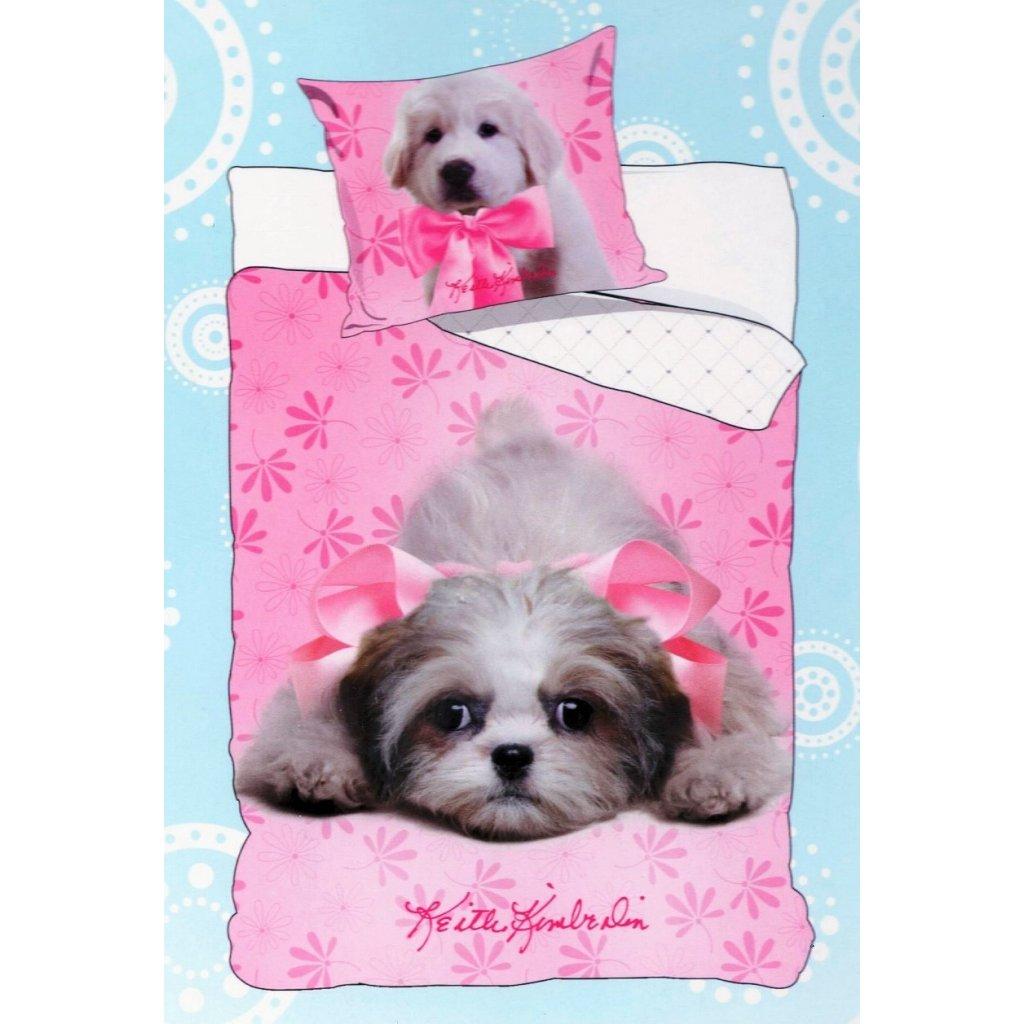 16 Puppies Pink