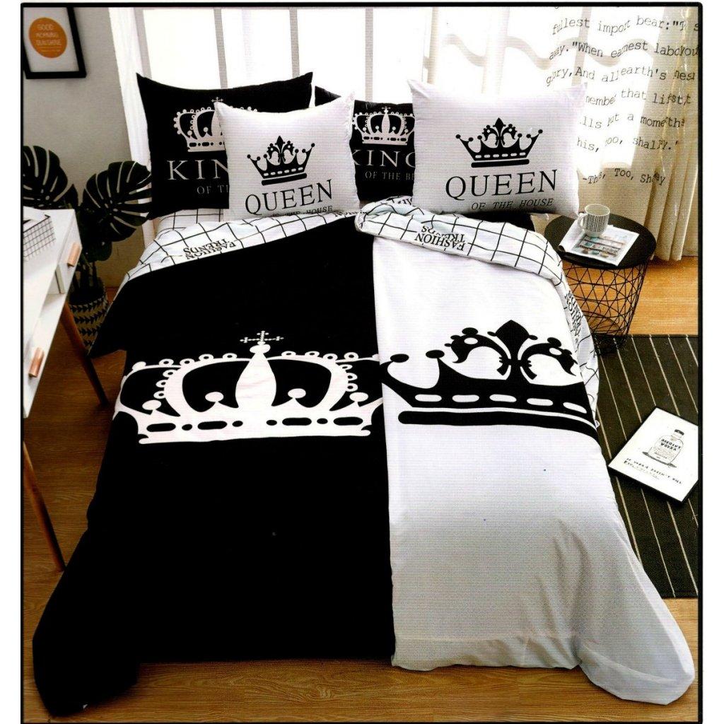 TOP FOTO obliečky 6-dielne Queen-King
