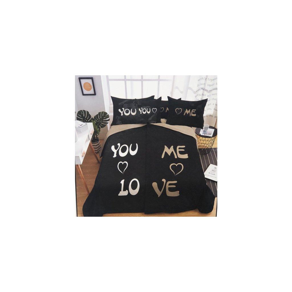 YOU AND ME LOVE foto obliečky