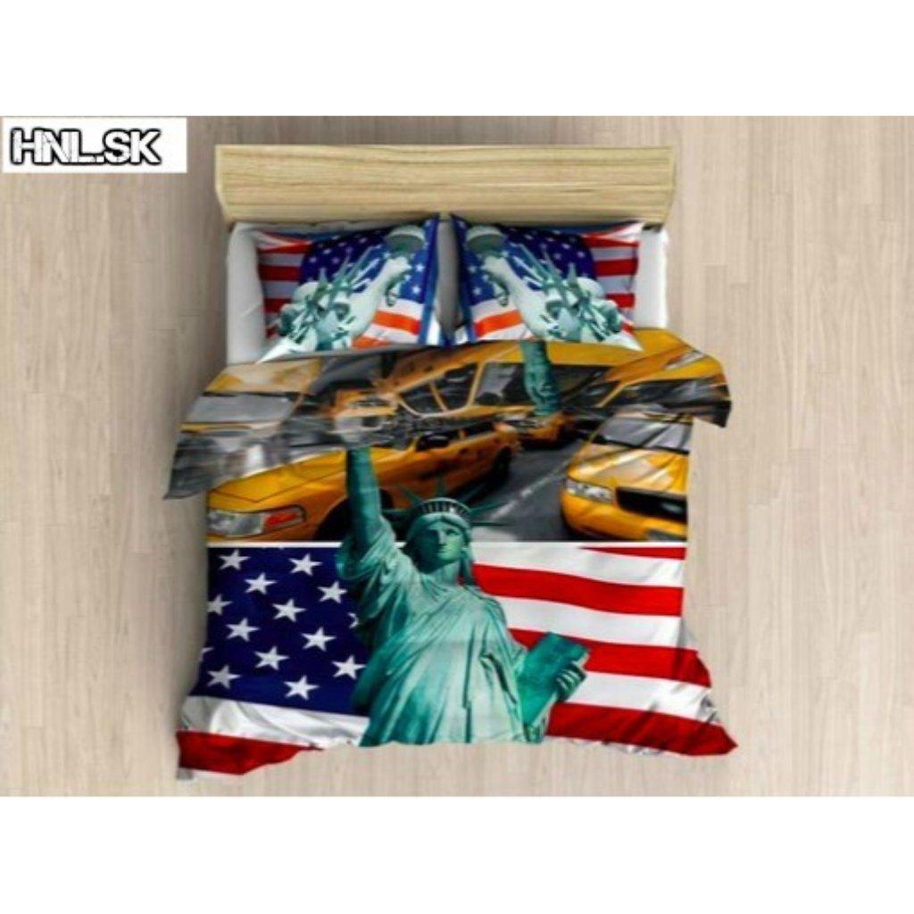 TOP 3D America 050 Foto obliečky