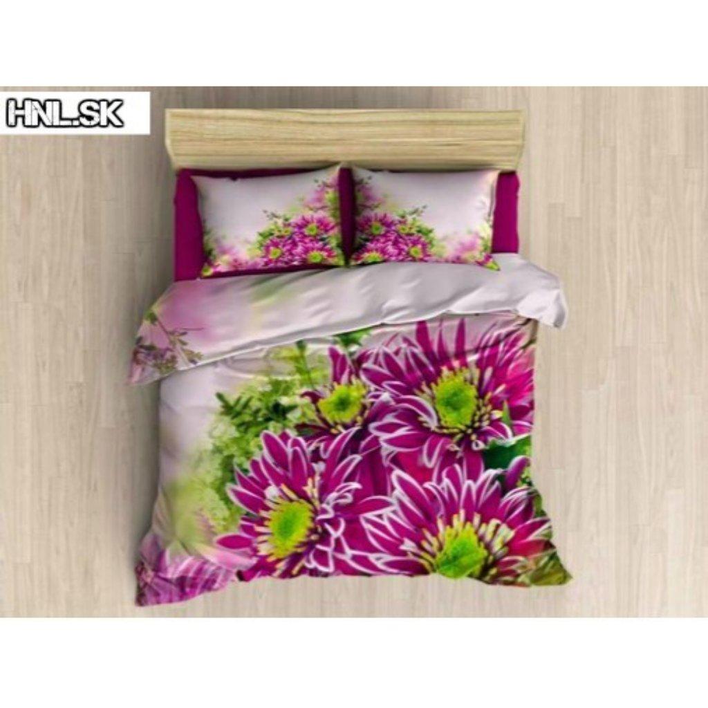 TOP 3D Kvet ružový 018 Foto obliečky