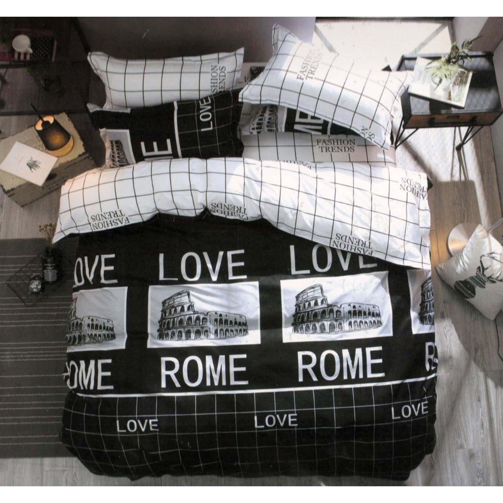TOP FOTO obliečky 3 alebo 7-dielne Rome
