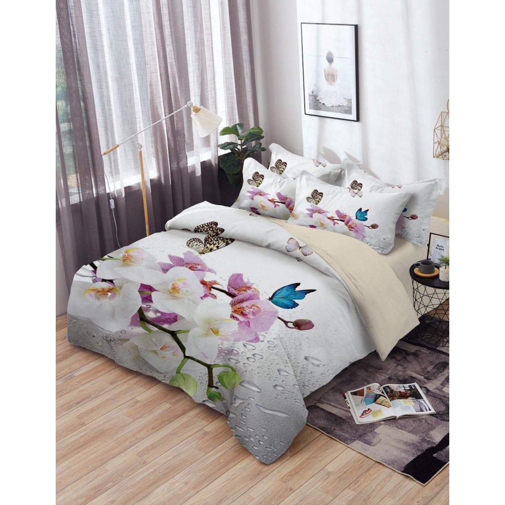 TOP 3D Orchidea Foto obliečky