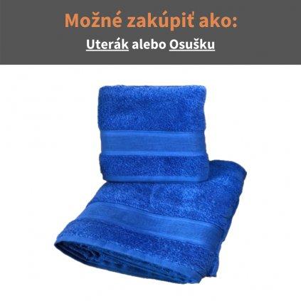 Froté uterák a osuška Kráľovská modrá
