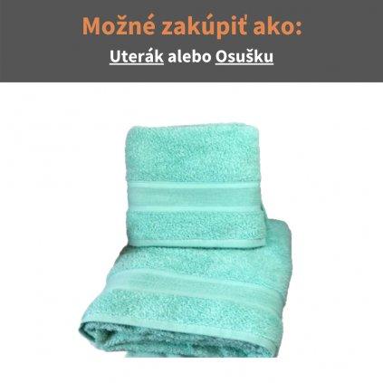Froté uterák a osuška Tyrkysová