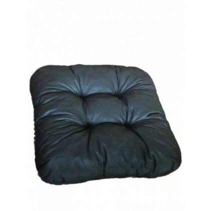 Podložka na stoličku - Čierna