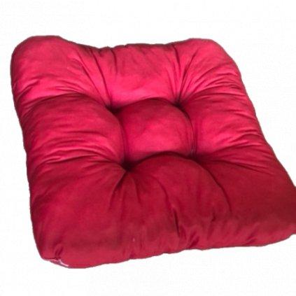 Podložka na stoličku - Červená