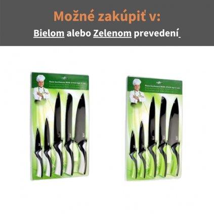 Kuchynské nože NON-STICK sada 5 ks
