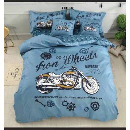 TOP 3D Iron Wheels Foto obliečky