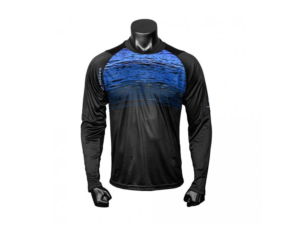 jersey portero goalkeeper 050507003 JERSEY PHENOMENON LS BLACK BLUE 1