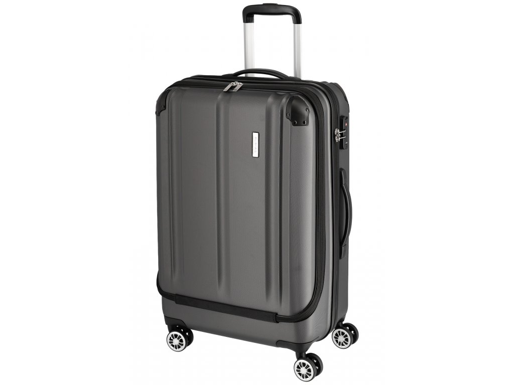 Travelite City 4w Business wheeler M Anthracite