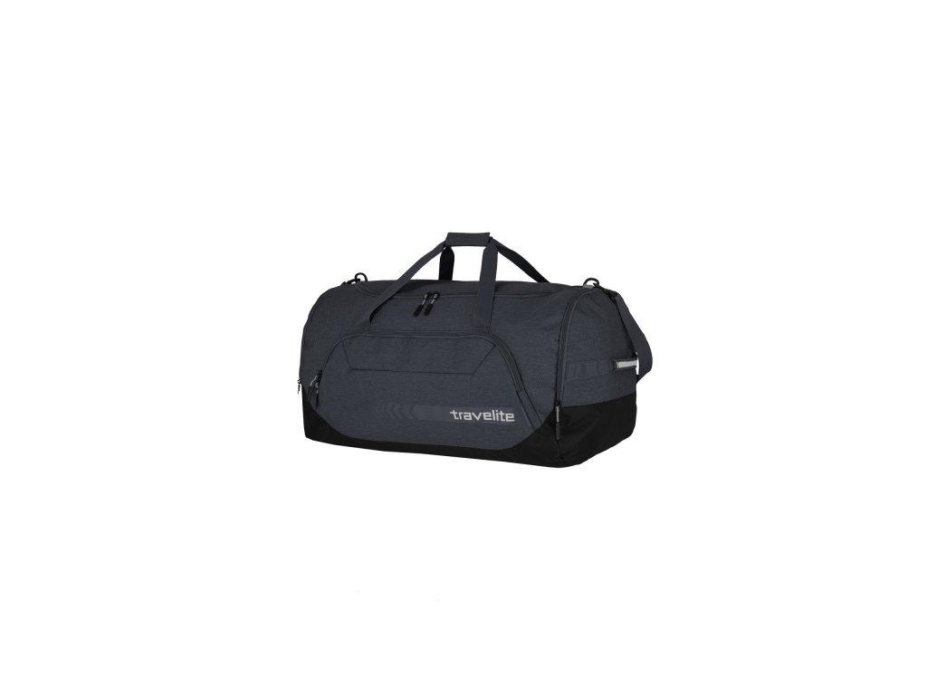 Travelite Kick Off Duffle XL Anthracite  + textilní rouška ke každé objednávce zdarma
