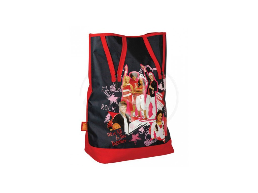 Dívčí vak SunCe High School Musical Vak přes rameno - černý 5806-HM