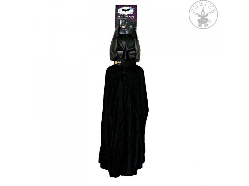 Batman maska+plášť (5482) - licenční kostým D  dětský - chlapecký karnevalový - maškarní kostým