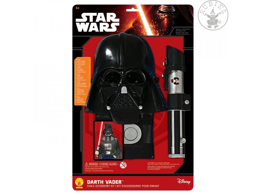 Darth Vader Box Set dětský (6 - 10 roků) - licenční kostým
