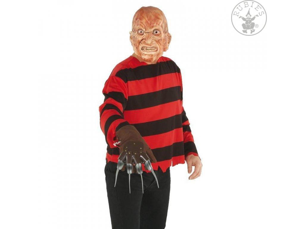 Freddy blister dospělý - licenční kostým D  pánský karnevalový kostým