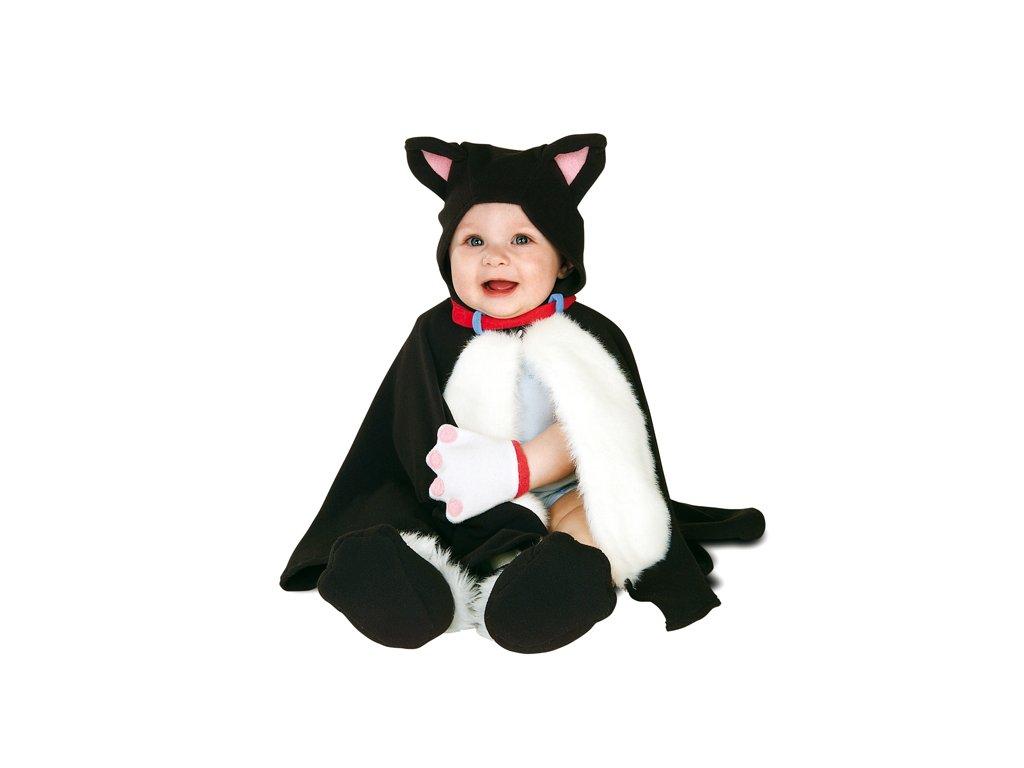 Kočička - dětský karnevalový kostým D