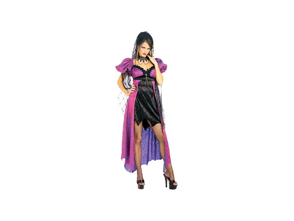 Spider Widow D  dámský karnevalový kostým vhodný nejen na Halloween