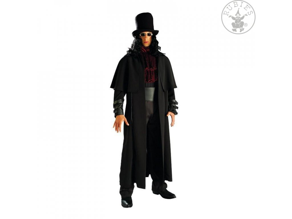 Vampire Lord  strašidelný pánský karnevalový kostým vhodný nejen na Halloween