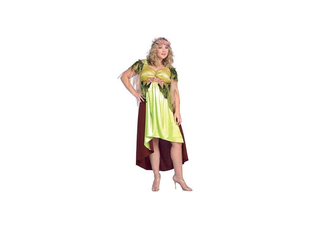 Karnevalový kostým Mother´s Nature vel. 42 - 46 D  dámský karnevalový kostým