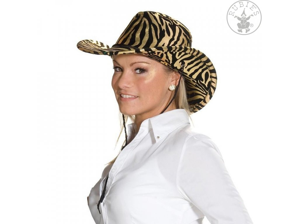 Kovboj zebra zlatá  D