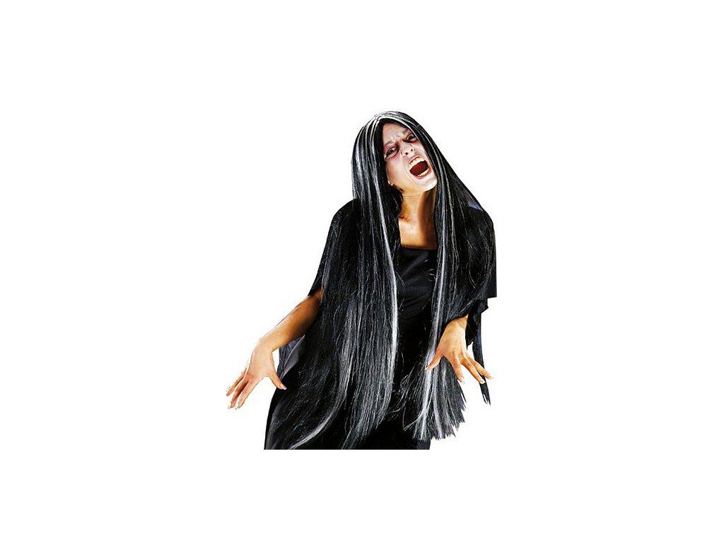 Hexe -  paruka D  dámská paruka čarodějnice dlouhovlasá