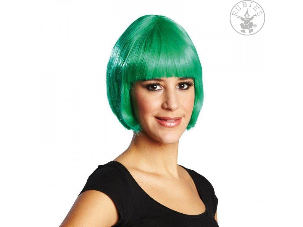 Trixy zelená - karnevalová paruka