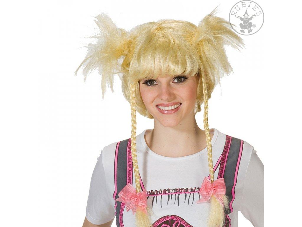 Vroni blond - karnevalová paruka D